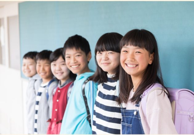 札幌市西野の学習塾「開智学院」の生徒たち